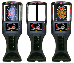 Galaxy 3 Dart Boards